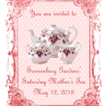 Saturday Mother's Tea