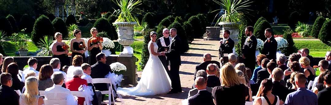 Wedding in the Italian Garden