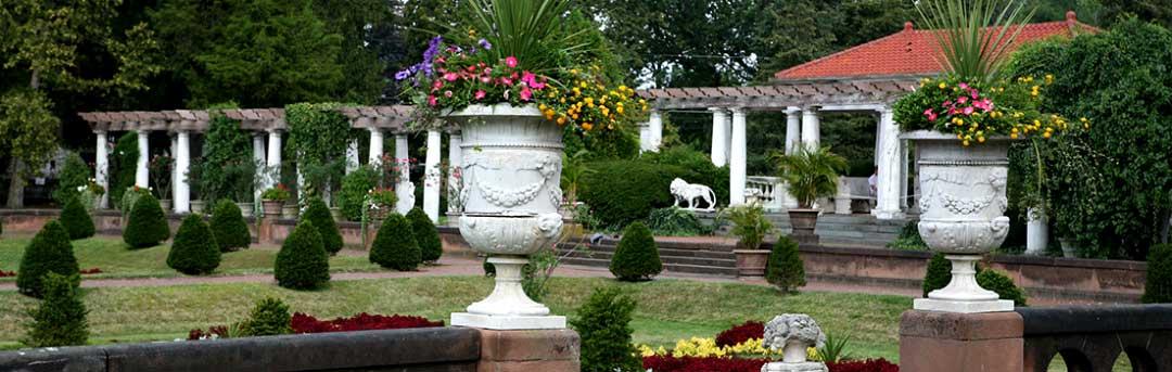 Details of the Italian Garden