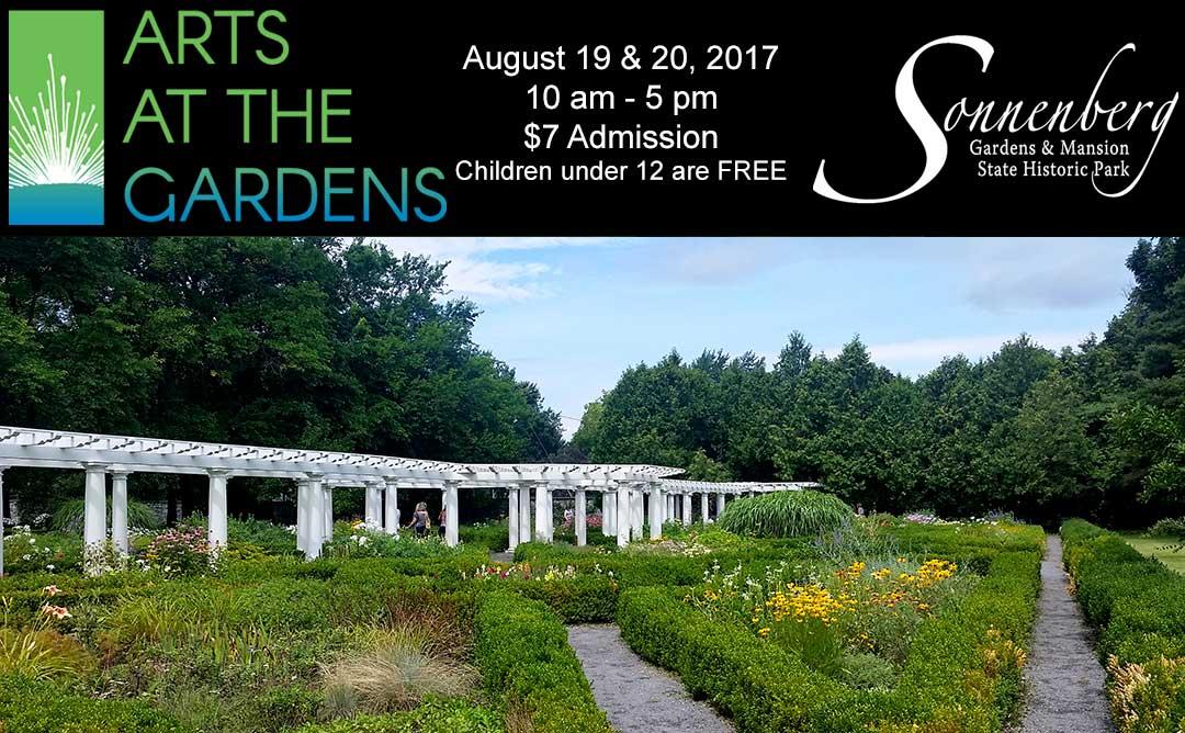 Arts at the Gardens Header