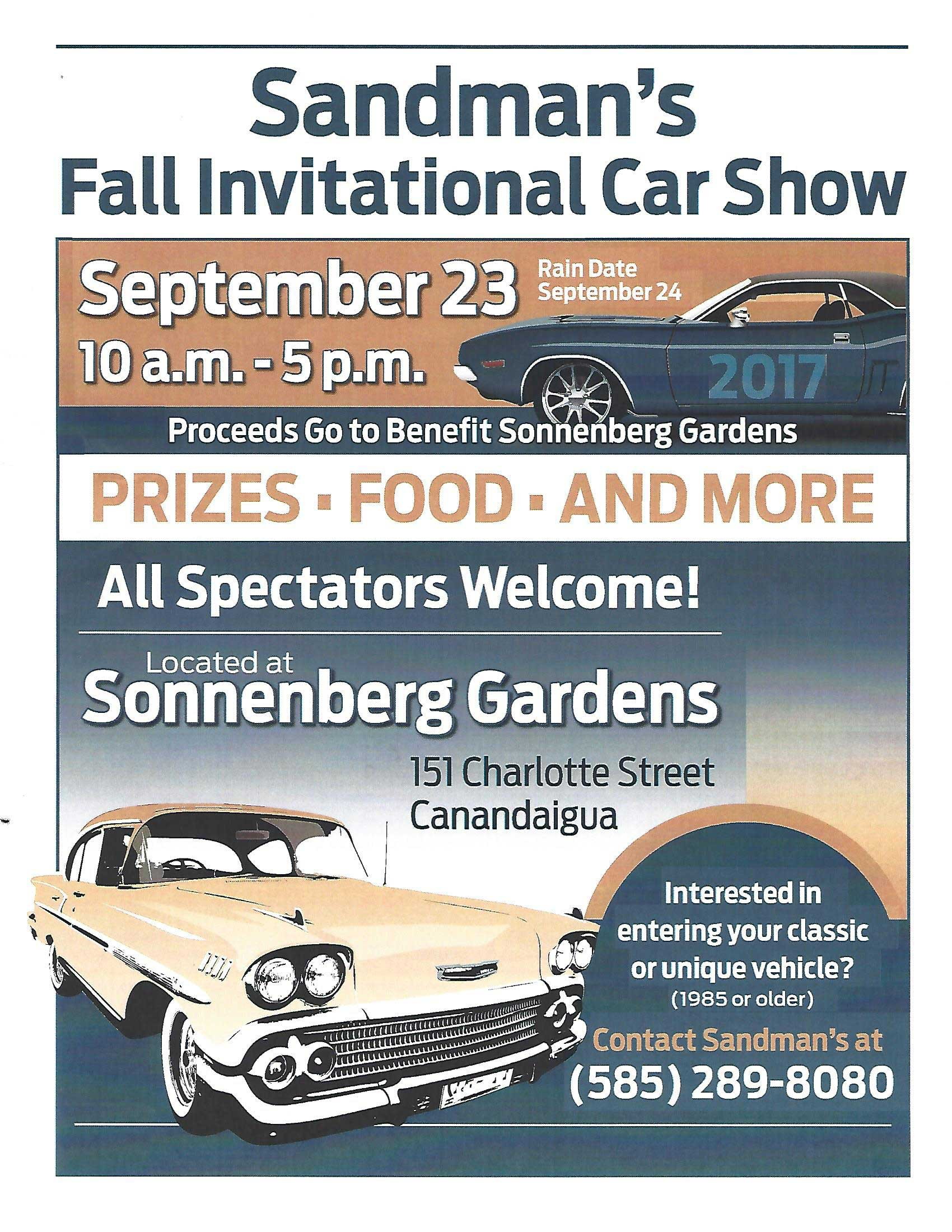 Sandman Fall Invitational Car Show