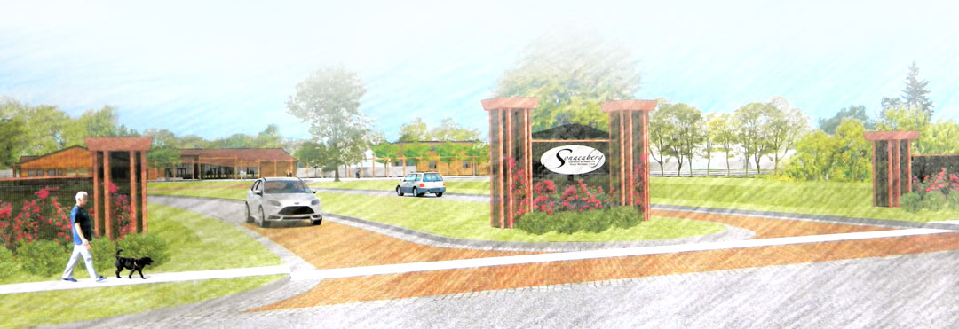 New Front Entrance