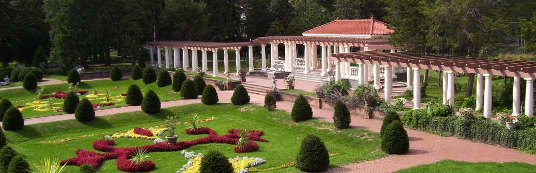 The Italian Garden with Belvedere